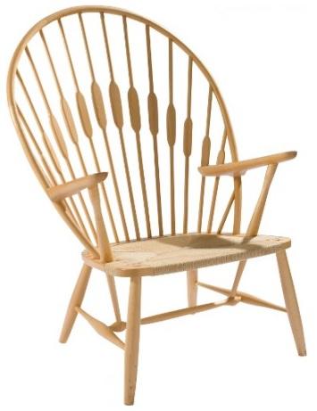 Påfugl stol