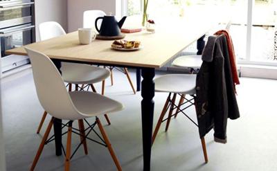 Eames Dsw Stoel : Eames dsw stol u charles eames plaststol dsw u designstoler
